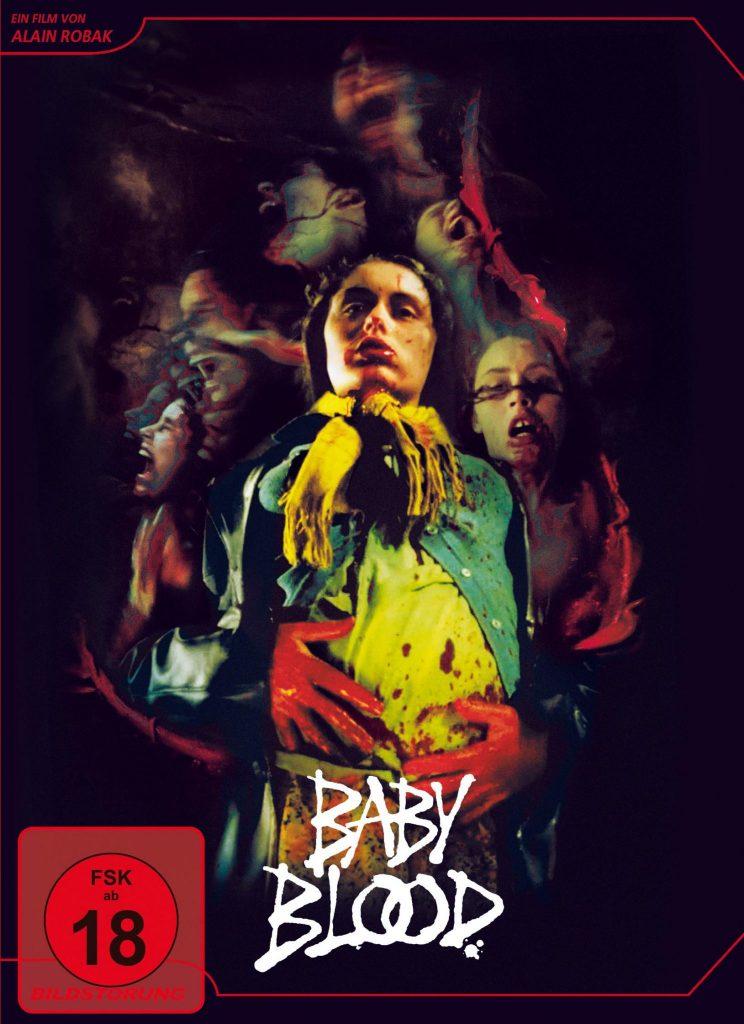 Das Cover der deutschen DVD zu Baby Blood