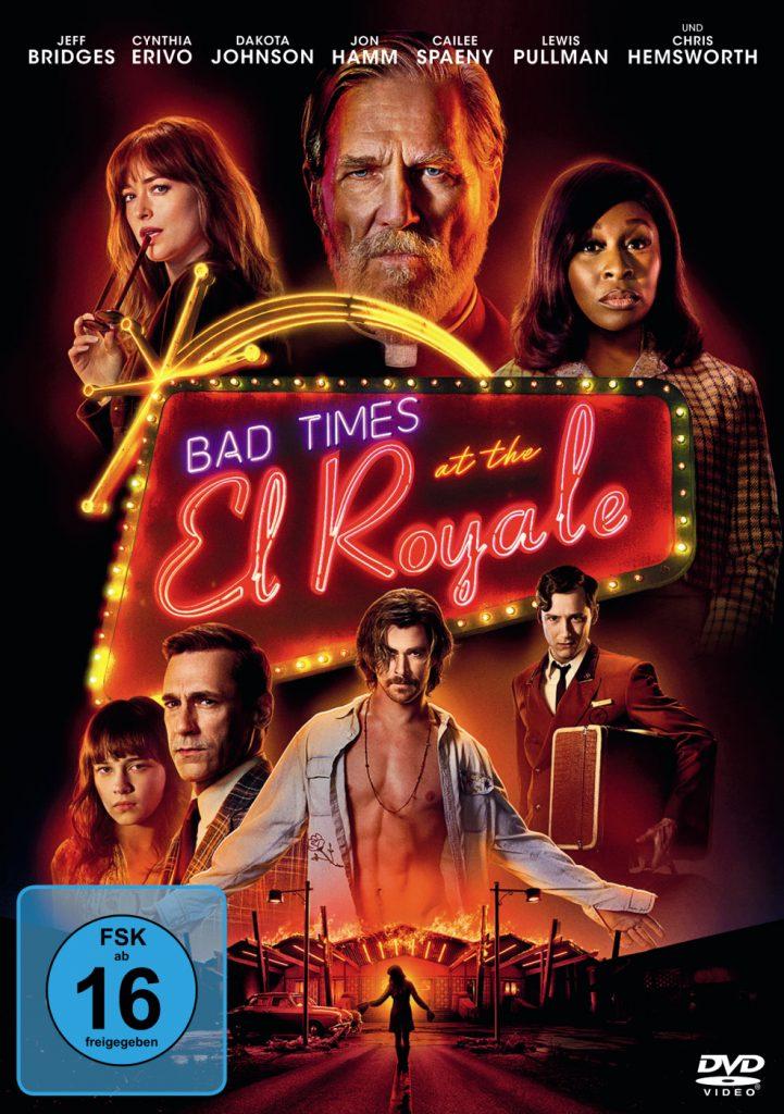 Bad Times at the El Royale - das DVD-Cover des Films © 2018 Twentieth Century Fox Home Entertainment