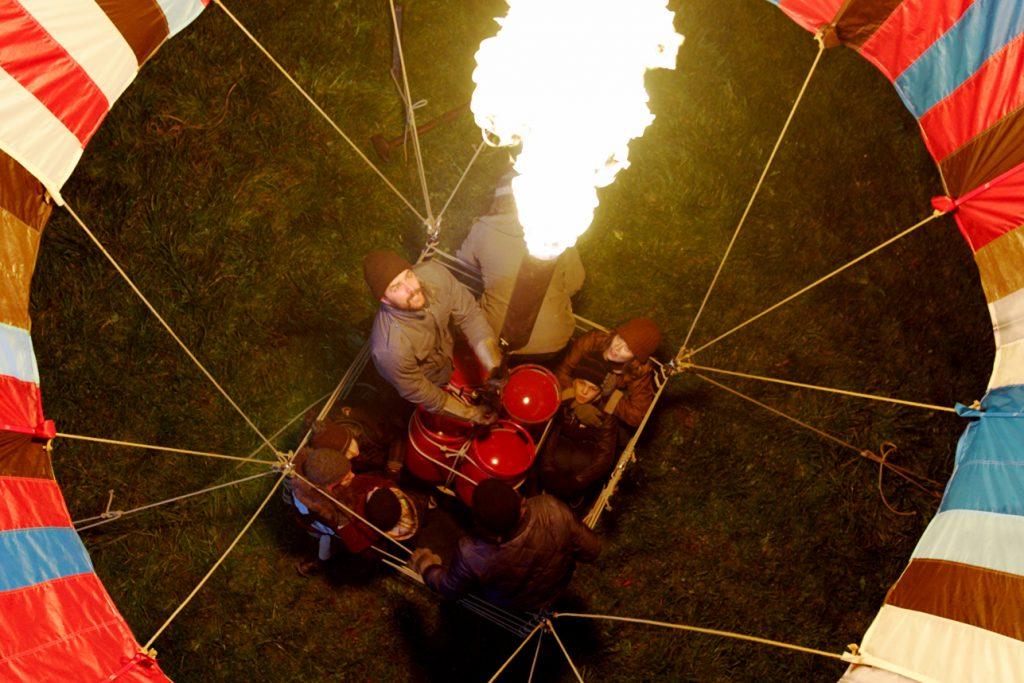 Der Ballon wird gestartet © Studiocanal Home Entertainment