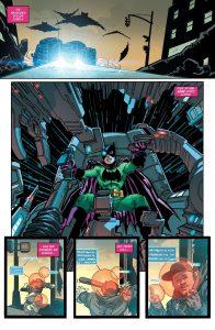 Carrie Kelly kehrt in der Rolle als Batgirl zurück. - Batman die Übermenschen; Alle Rechte liegen bei Paninicomics.