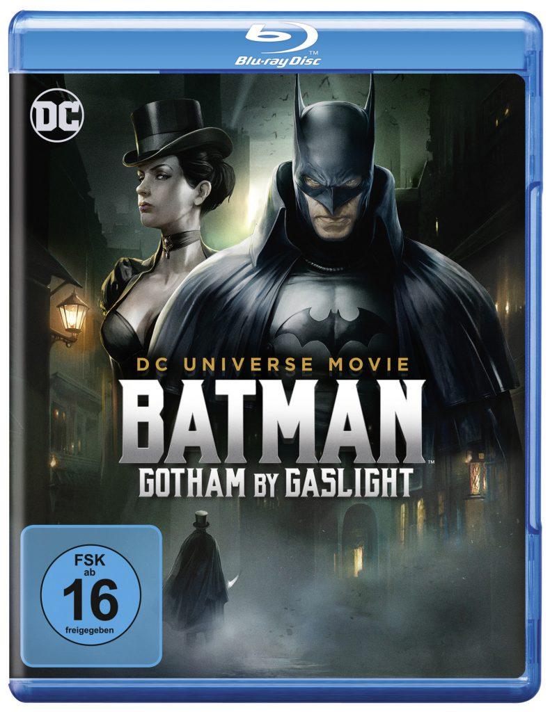"""Cover der Blu-ray Ausgabe von """"Batman Gotham by Gaslight"""""""