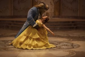 Emma Watson stars as Belle and Dan Stevens as the Beast in Disney's BEAUTY AND THE BEAST, a live-action adaptation of the studio's animated classic directed by Bill Condon. © The Walt Disney Company Germany GmbH