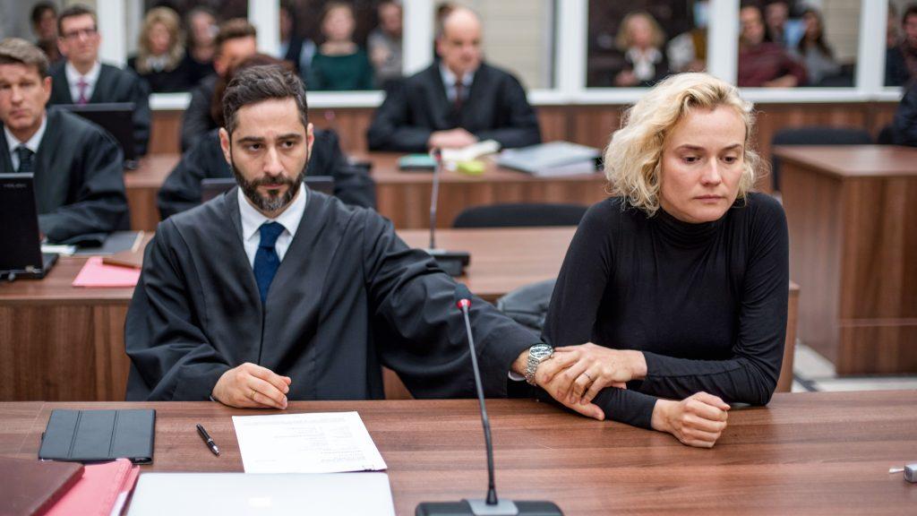 """Diane Kruger und Denis Moschitto in """"Aus dem Nichts"""""""