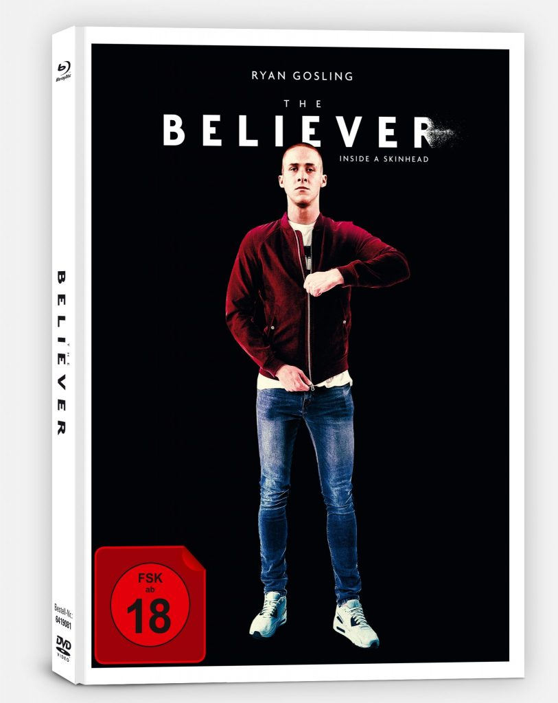 Das Cover des deutschen Mediabooks. | THE BELIEVER © Capelight Pictures