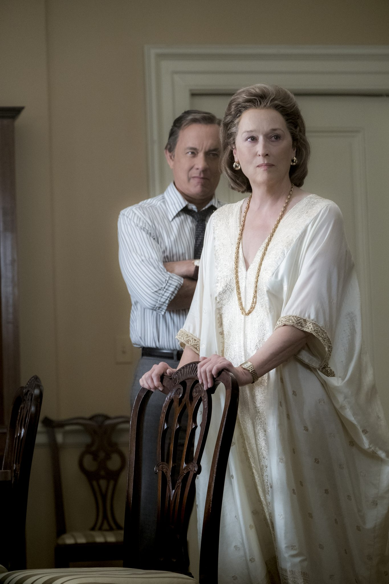 Ben Bradlee (Tom Hanks) und Kay Graham (Meryl Streep)