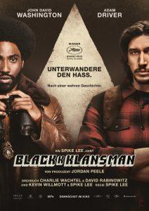 "Filmplakat zu ""Blackkklansman"" © Universal Pictures"