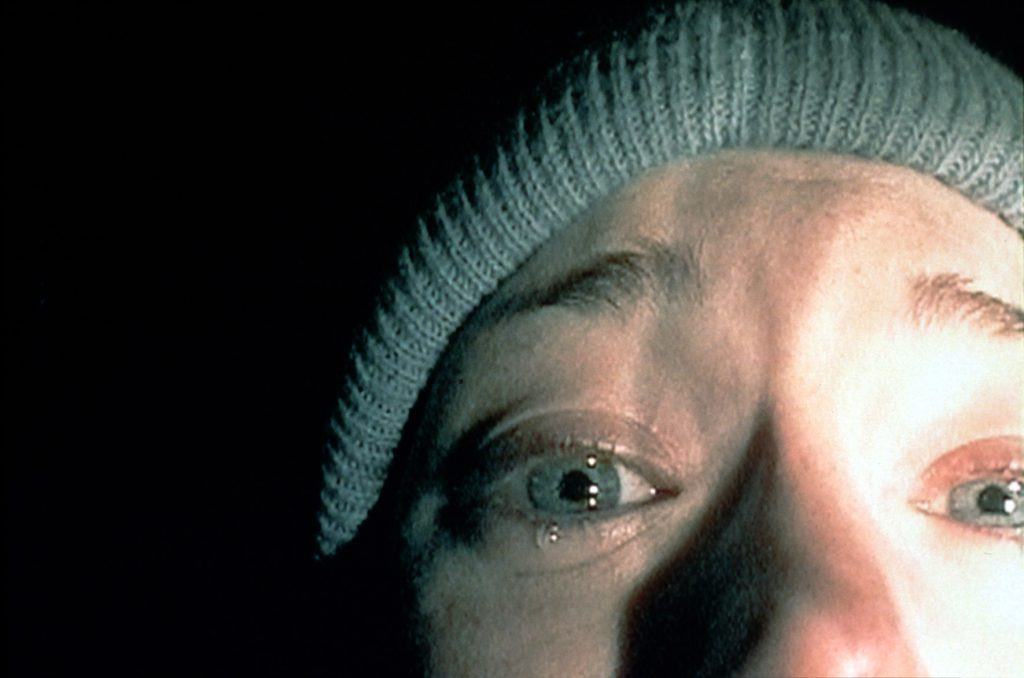 Heather Donahue in Blair Witch Project. © Studiocanal Home Entertainment