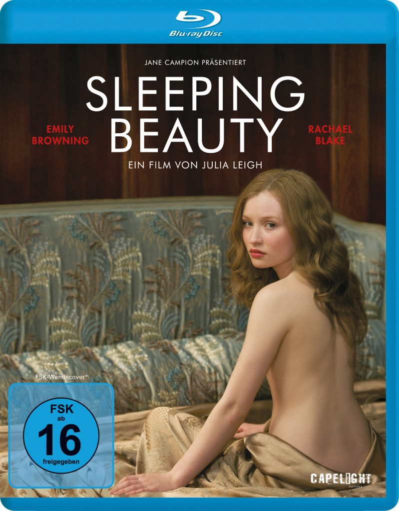 "Blu-ray Cover von ""Sleeping Beauty"" ©Capelight Pictures"