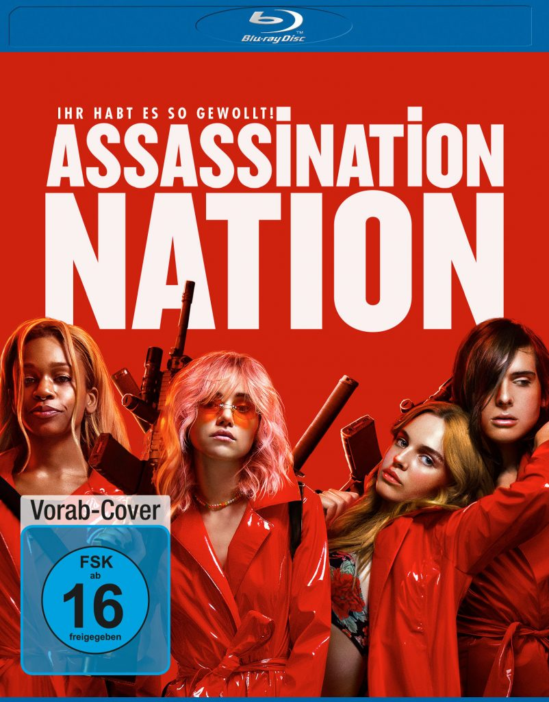 Das Cover der deutschen Blu-ray | ASSASSINATION NATION © Universum Film Home Entertainment