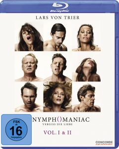 Bluray-Cover von Nymphomaniac