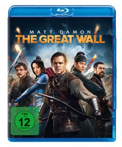 Bluray-Cover von The Great Wall