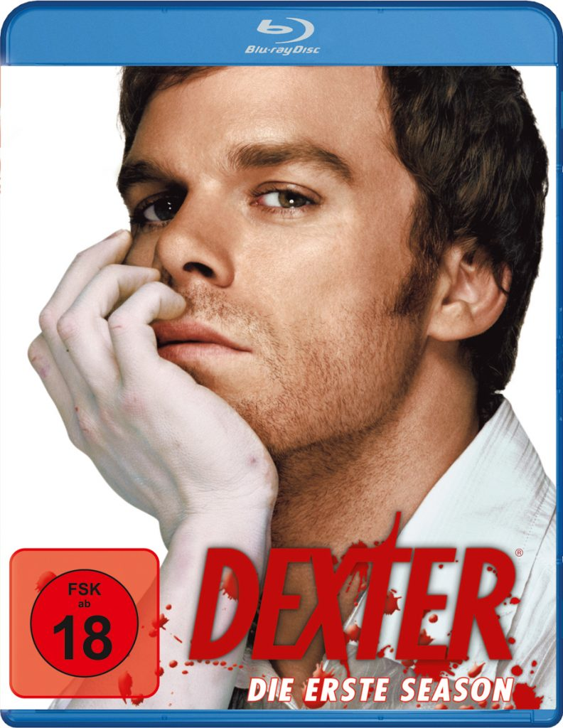Bluray-Cover zu Dexter - Staffel 1