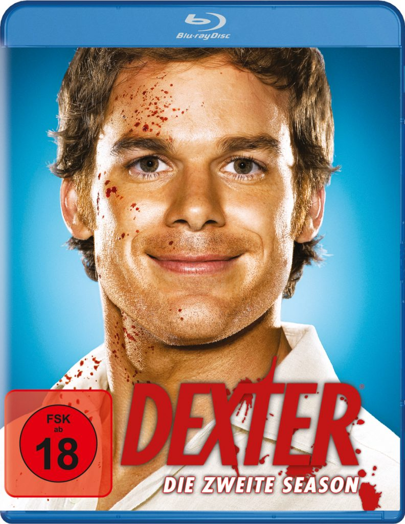 Bluray-Cover zu Dexter - Staffel 2