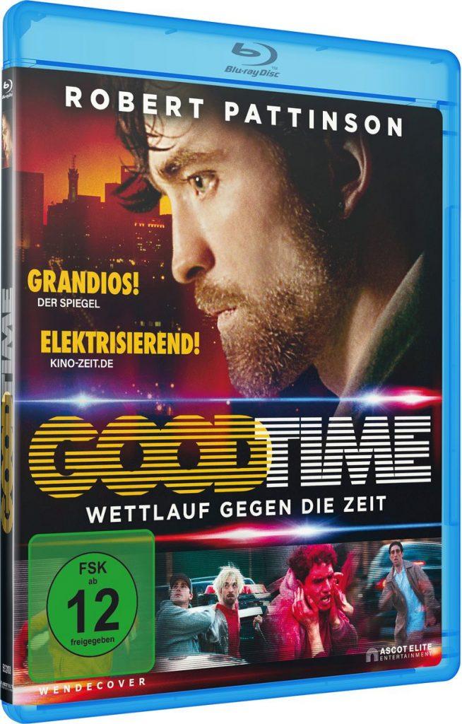 Offizielles Bluray Cover von Good Time © Ascot Elite Home Entertainment