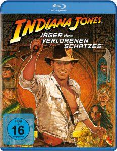 Bluray-Cover zu Indiana Jones - Jäger des verlorenen Schatzes von 1981