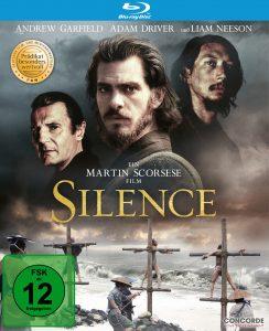 Bluray-Cover zu Silence von 2017