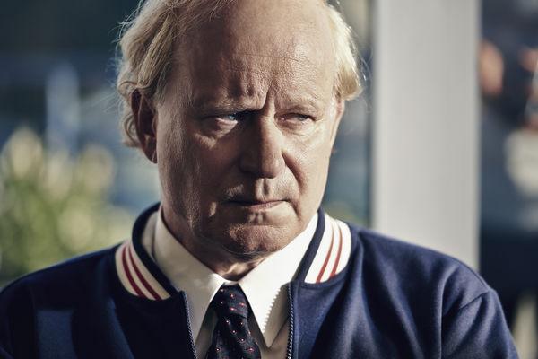 "Stellan Skarsgard als ""Lennart Bergelin"" in ""Borg/McEnroe"""