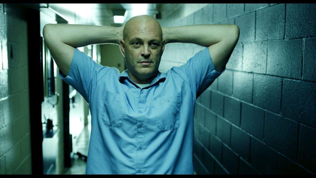 Vince Vaugh gibt in Brawl in Cell Block 99 eine brillante, rohe und eindringliche Performance. © Universum Film
