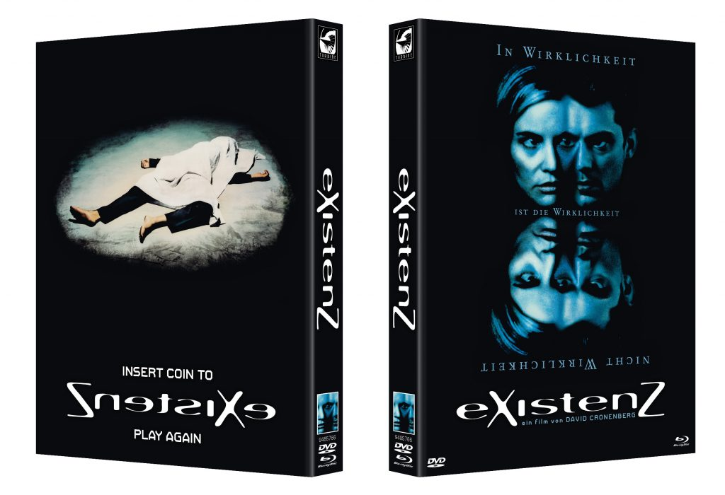 Blu-Ray Cover von eXistenZ von © 2018 TURBINE CLASSICS GMBH