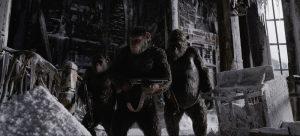 Caesar (Andy Serkis) in Planet der Affen Survival aus 2017