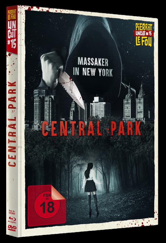 Das Cover des deutschen Mediabooks | CENTRAL PARK © Pierrot le Fou