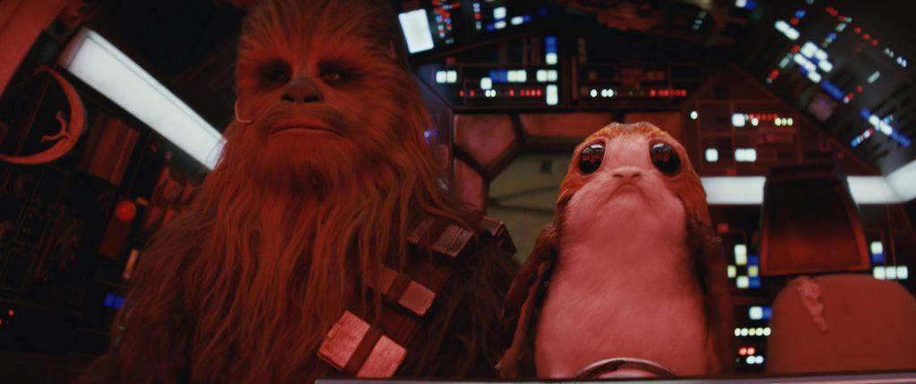 Chewbacca (Peter Mayhew) in Star Wars - Die letzten Jedi von 2017