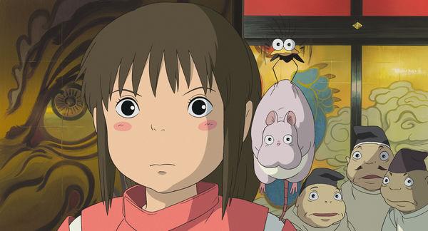 Chihiro und ihre Freunde sind gespannt auf Studio Ghibli Filme