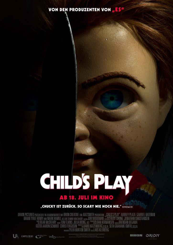 """Eines der aktuellen Remakes: Chucky ist zurück! 2019 erschien mit """"Child's Play"""" das Remake zum gleichnamigen Klassiker von 1988 und Reboot des Child's-Play-Franchises © Capelight Pictures"""