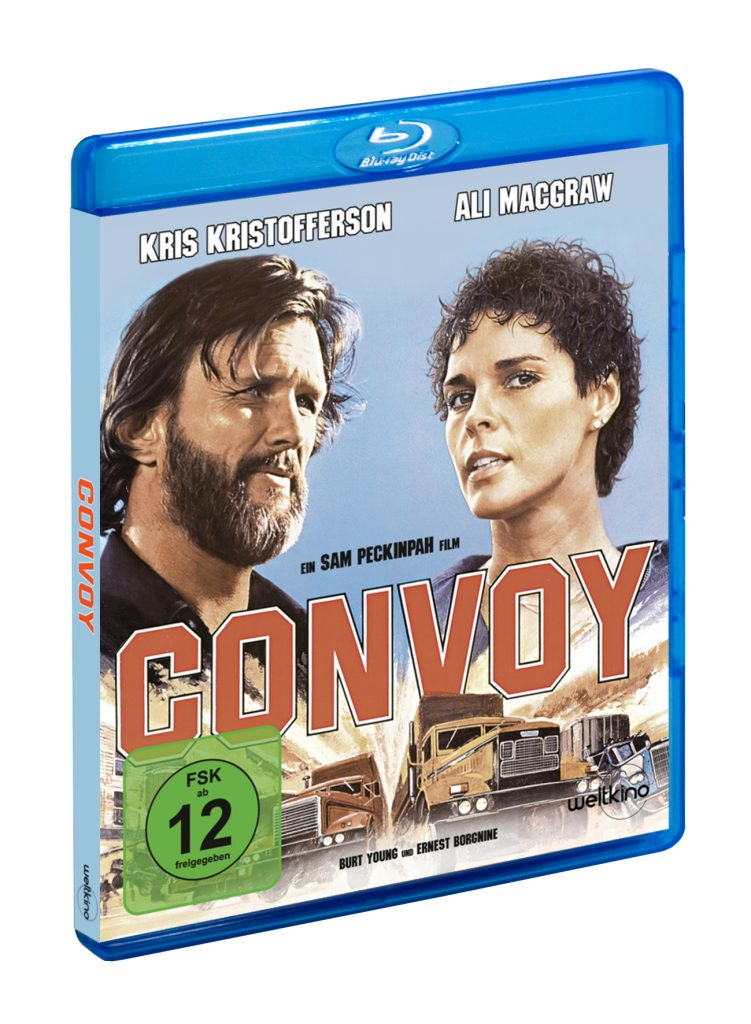 Convoy BluRay Cover © Weltkino