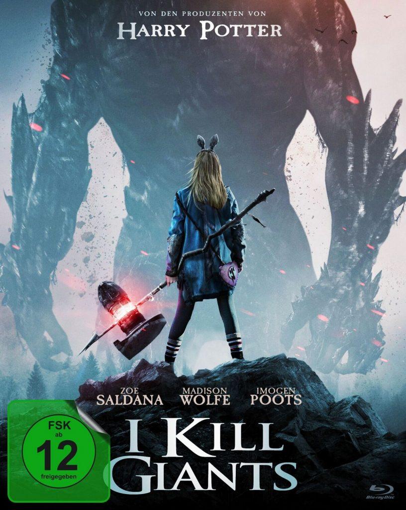 """Cover zu """"I Kill Giants"""" © 2018 Koch Films"""