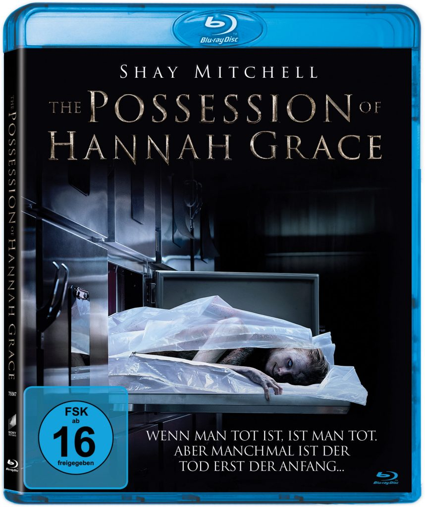 Das Cover der deutschen Blu-ray. | THE POSSESSION OF HANNAH GRACE © 2018 Screen Gems, Inc. All Rights Reserved.