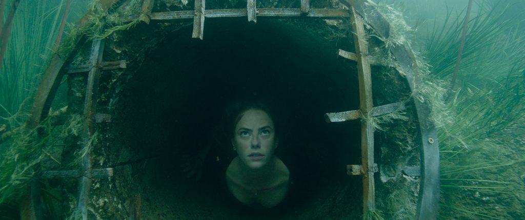 Für Haley (Kaya Scodelario) heißt es in Crawl, die Luft anzuhalten. © Paramount Pictures
