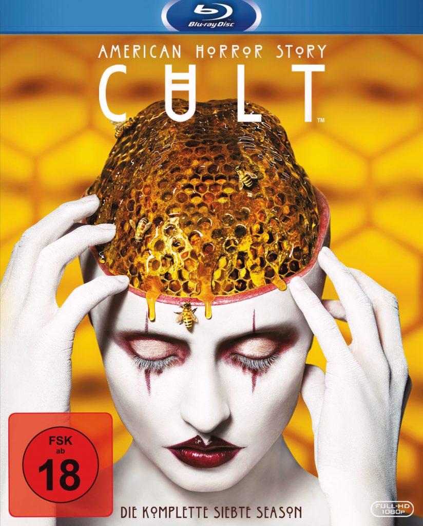 Offizielles Bluray-Cover zu American Horror Story: Cult © 2017 Twentieth Century Fox