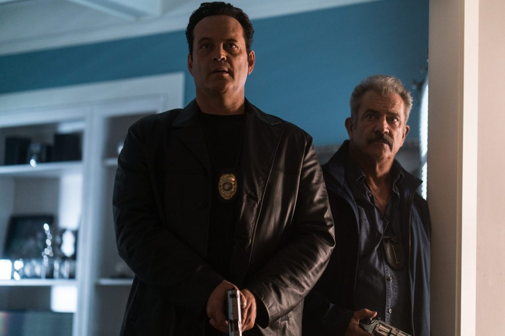 Vince Vaughn und Mel Gibson in Dragged Across Concrete © Universum Film
