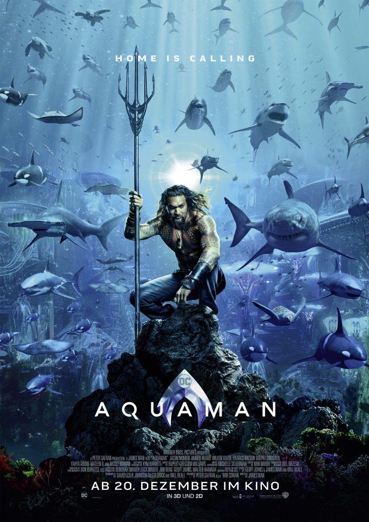 Poster zu Aquaman © Warner Bros.