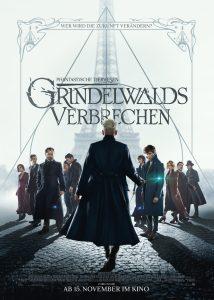 """Filmplakat zu """"Phantastische Tierwesen: Grindelwalds Verbrechen"""" © Warner Bros."""