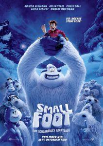 """Filmplakat zu """"Smallfoot - Ein eisigartiges Abenteuer"""" © Warner Bros."""