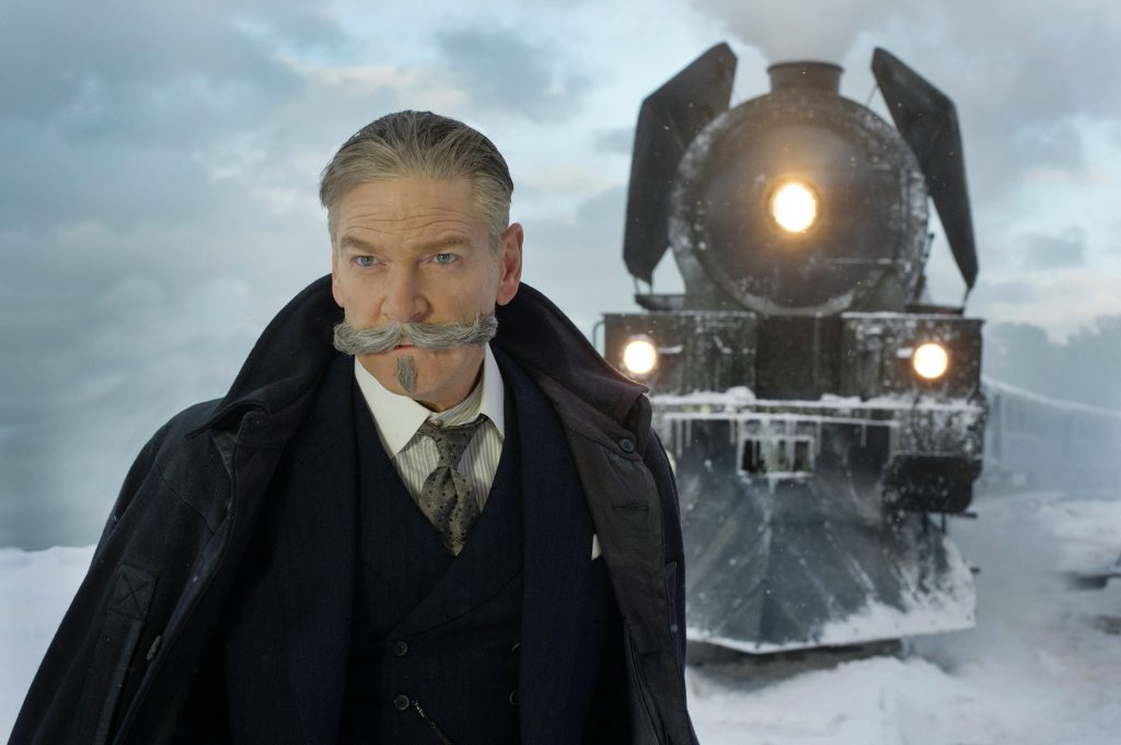 "Kenneth Branagh als ""Hercule Poirot"" in ""Mord im Orient Express"" by 20th Century Fox"