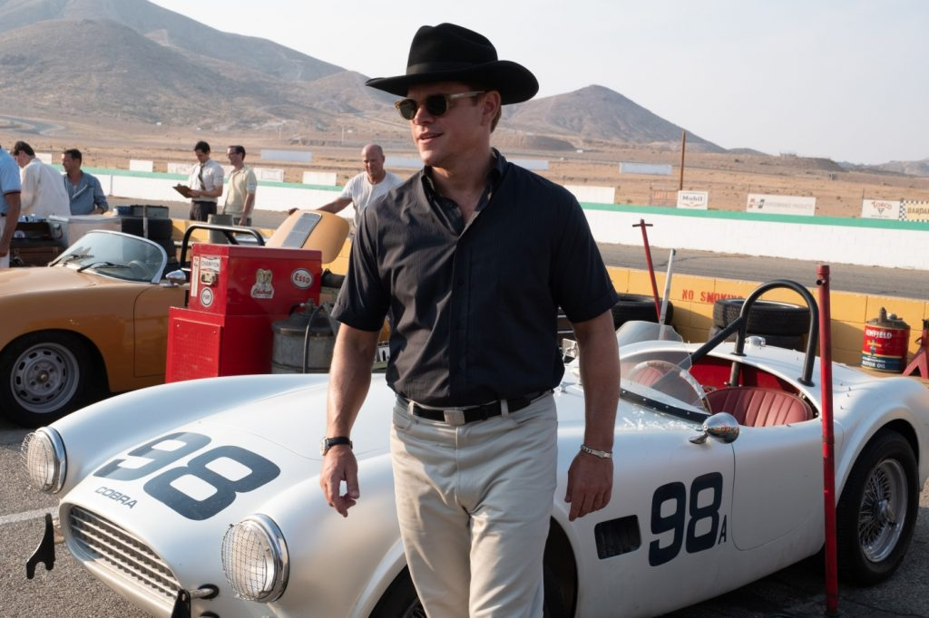 "Matt Damon als Carrol Shelby in ""Le Mans 66: Gegen jede Chance"""