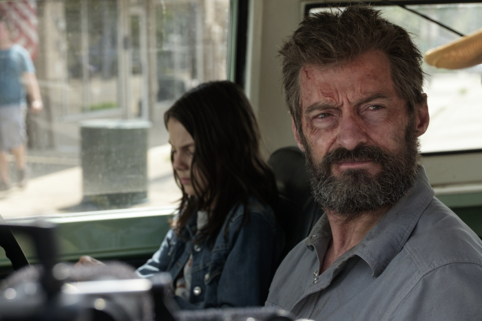 Dafne Keen und Hugh Jackman in Logan - The Wolverine von ©20th Century Fox Home Entertainment