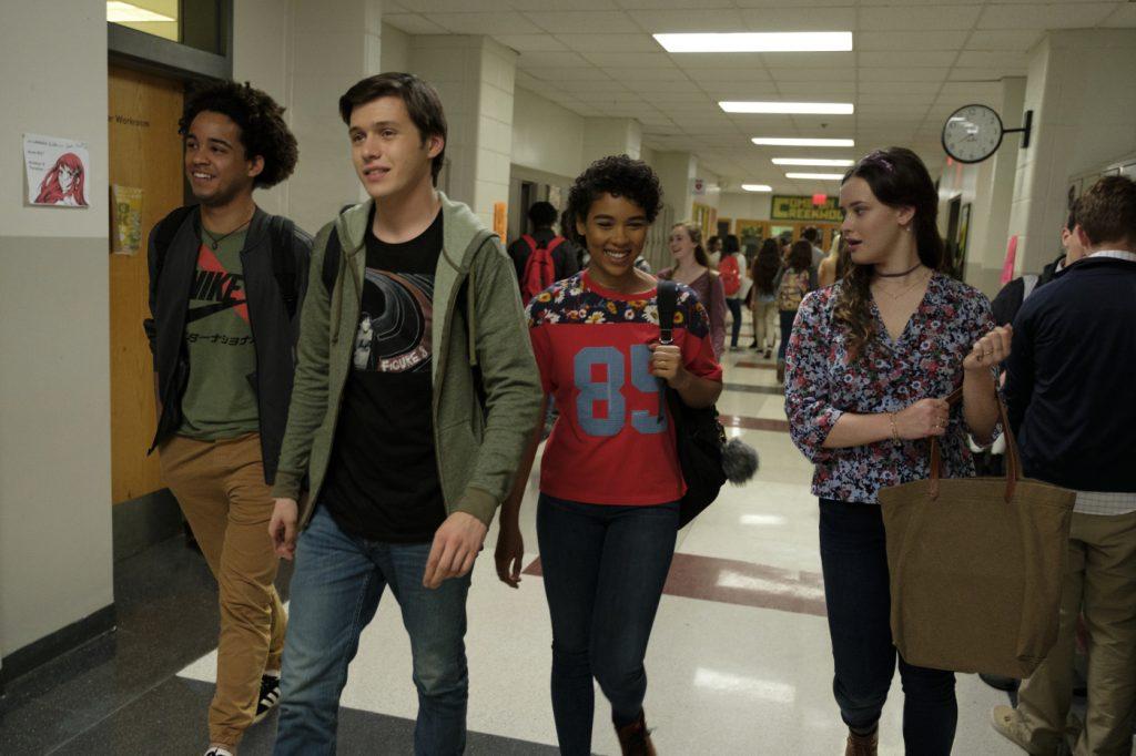 In der Schule hat Simon ein gutes Standing. Könnte sein Outing das ändern? © 2017 Twentieth Century Fox