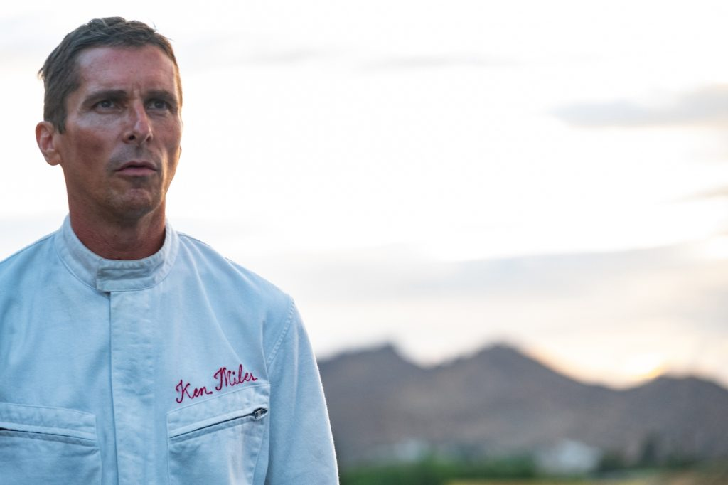 """Christian Bale als Ken Miles in """"Le Mans 66: Gegen jede Chance"""""""