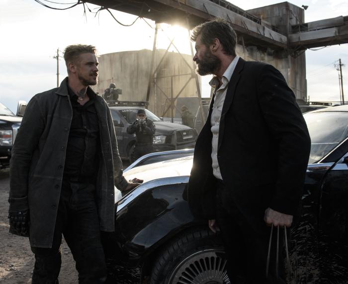 Hugh Jackman und Boyd Holbrook in Logan - The Wolverine von ©20th Century Fox Home Entertainment