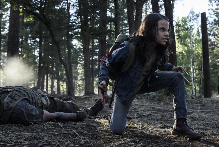 Dafne Keen in Logan - The Wolverine von ©20th Century Fox Home Entertainment