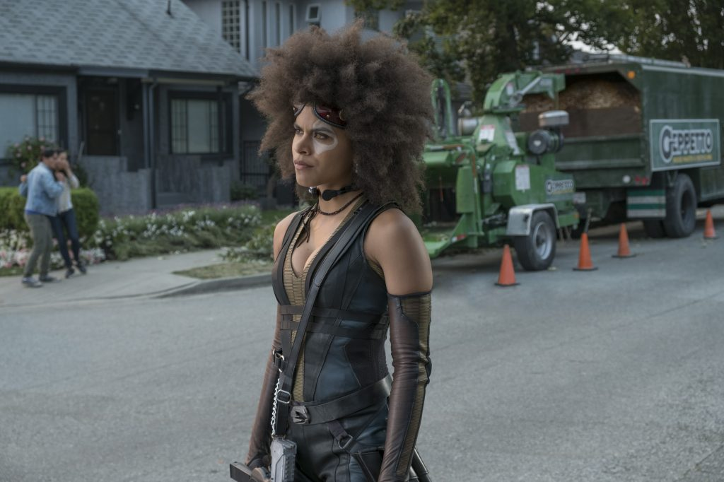 "Deadpool 3 in Planung - Hier Neena Thurman/Domino in ""Deadpool 2"" © 20th Century Fox"