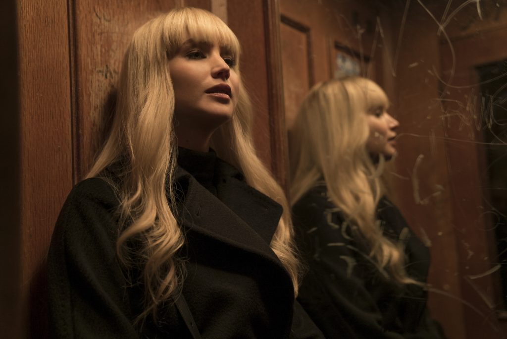"""So schön wie undurchsichtig: Jennifer Lawrence in """"Red Sparrow"""" © Twentieth Century Fox"""