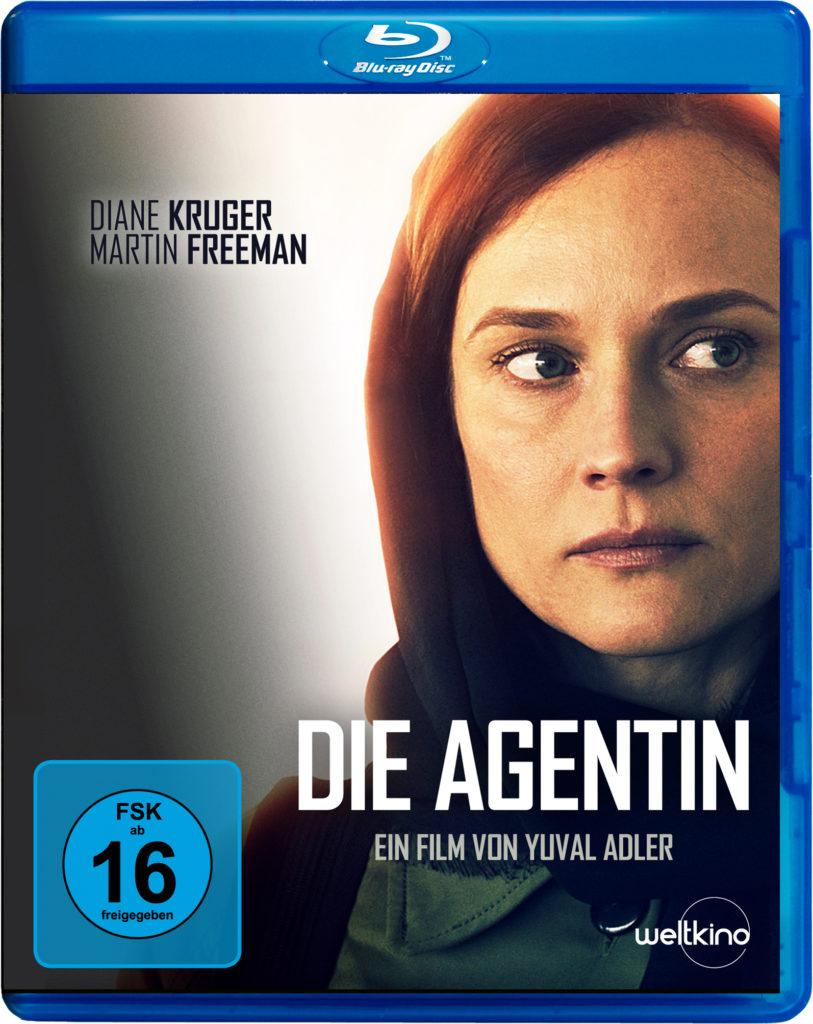 Das Cover der Blu-ray von Die Agentin. zeigt Diane Kruger als Rachel.