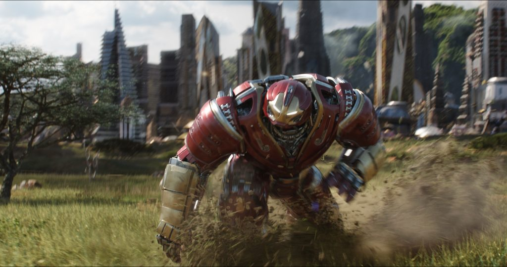 Iron Hulk. AVENGERS: INFINITY WAR..Hulkbuster..Photo: Film Frame..©Marvel Studios 201