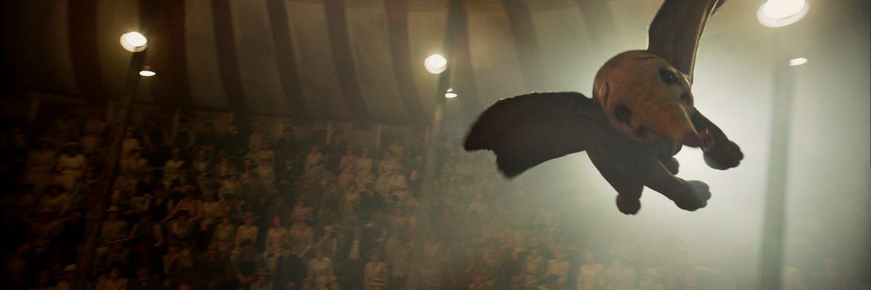 Dumbo in der Luft © The Walt Disney Company Germany