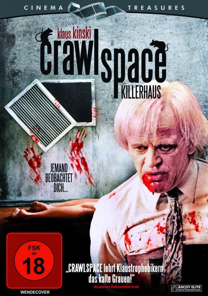 DVD Cover von Crawlspace ©Universum Film Home Entertainment